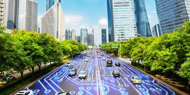 شهر هوشمند پلاک خوان ترافیک