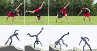 مهارت های حرکتی یادگیری تقویتی عمیق