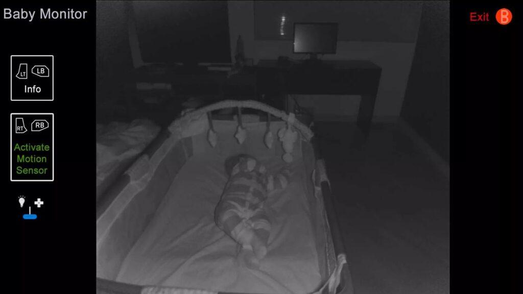 نرم افزار دوربین مدار بسته baby monitor for kinect
