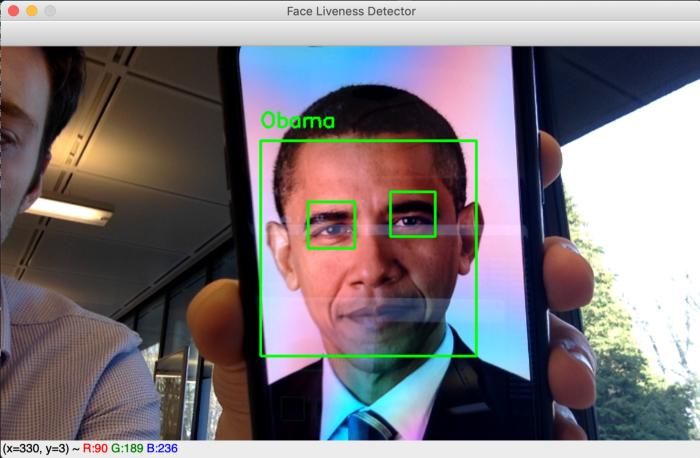 تشخیص زنده بودن چهره حملات عکس