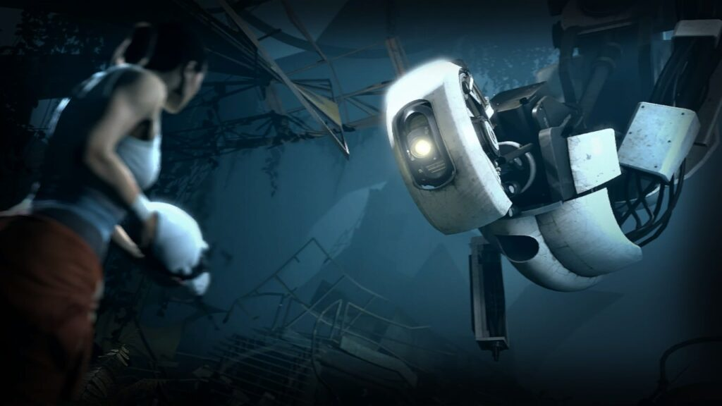 هوش مصنوعی شخیصت گلادوس در Portal