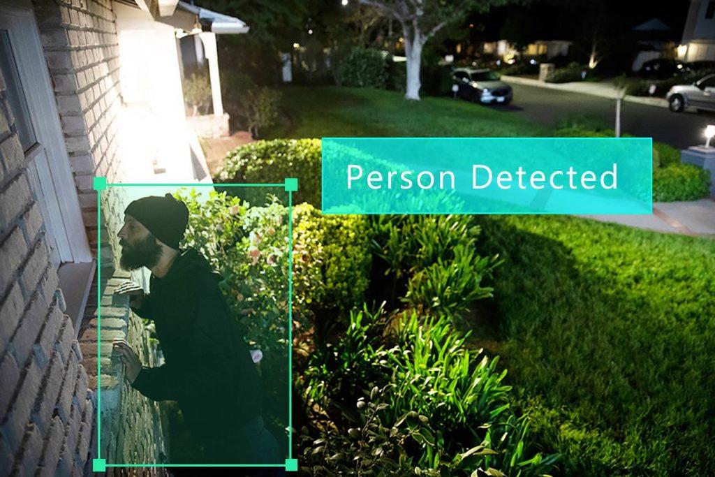 تشخیص افراد با دوربین هوش مصنوعی
