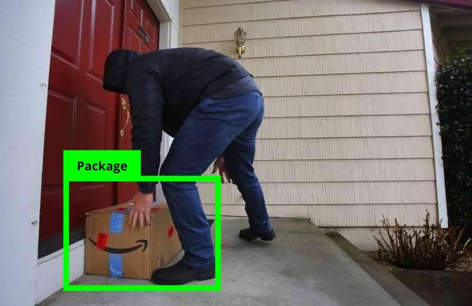 تشخیص بسته پستی با دوربین هوش مصنوعی