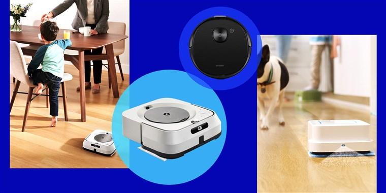 ربات های نظافتچی هوش مصنوعی شرکت iRobot