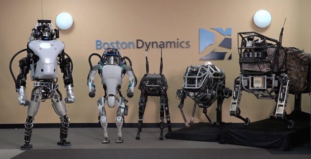 ربات های هوش مصنوعی شرکت Boston Dynamics