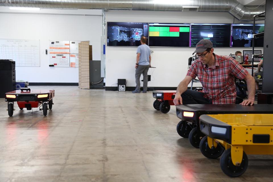 ربات های هوش مصنوعی شرکت CANVAS TECHNOLOGY