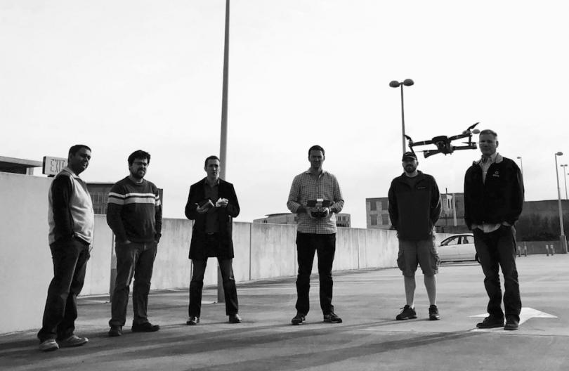 پهپاد های هوش مصنوعی شرکت Drone Sense