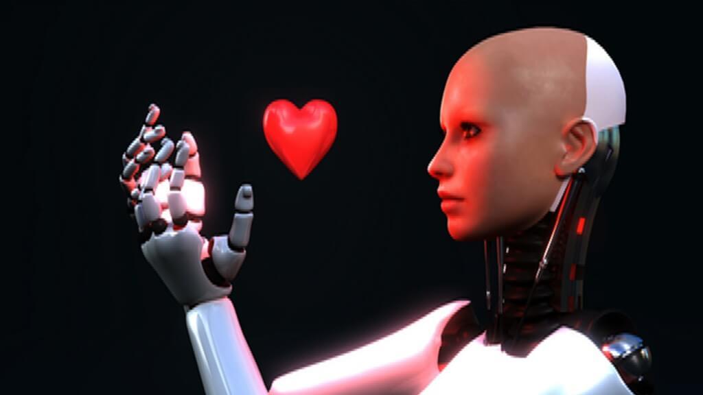 ربات دارای احساس