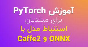 آموزش PyTorch برای مبتدیان – استنباط مدل با ONNX و Caffe2