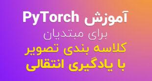 آموزش PyTorch کلاسه بندی تصویر با یادگیری انتقالی