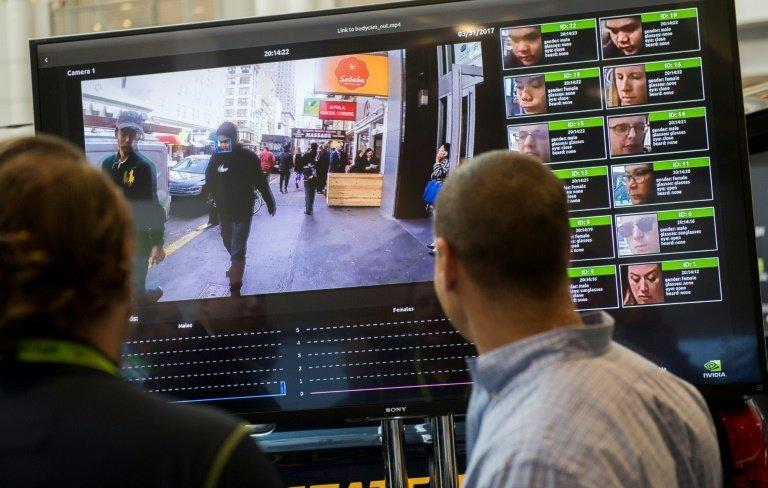 تشخیص چهره مردم در مکان های عمومی
