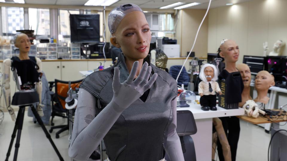 ربات هوش مصنوعی سوفیا Hanson Robotics