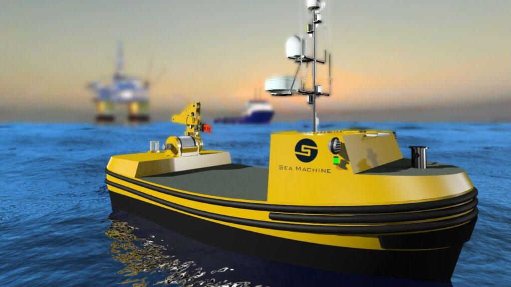 قایق Sea Machines با قابلیت هوش مصنوعی