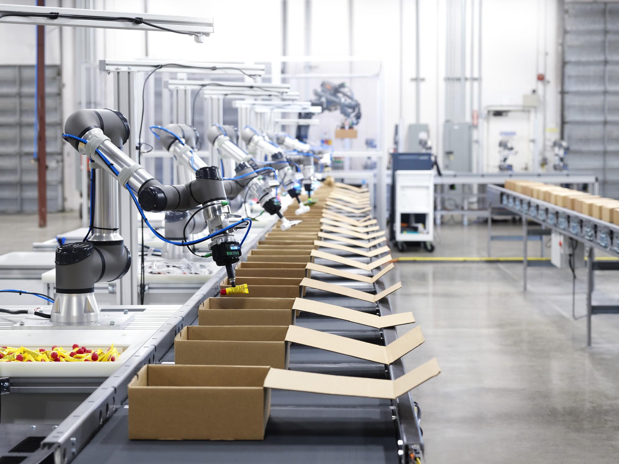 ربات های هوش مصنوعی خط تولید Vicarious