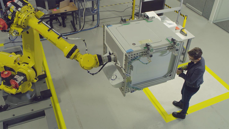 بازو رباتیک شرکت Voe Robotics