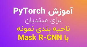 آموزش PyTorch برای مبتدیان ناحیه بندی نمونه با Mask R-CNN