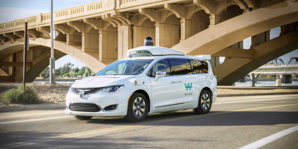 خودرو بدون سرنشین Waymo