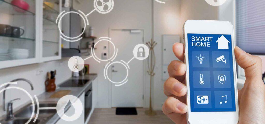کنترل خانه هوشمند با تلفن هوشمند