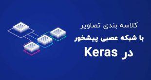 کلاسه بندی تصاویر با شبکه عصبی پیشخور در Keras