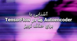 آشنایی با Autoencoder ها درTensorFlow برای حذف نویز