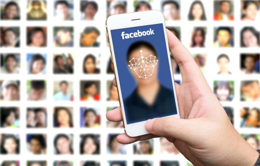 سیستم تشخیص چهره فیسبوک