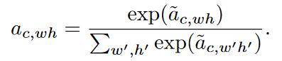 فرمول نرمال ضریب توجه