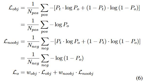 فرمول شبکه عصبی تشخیص اشیا 6
