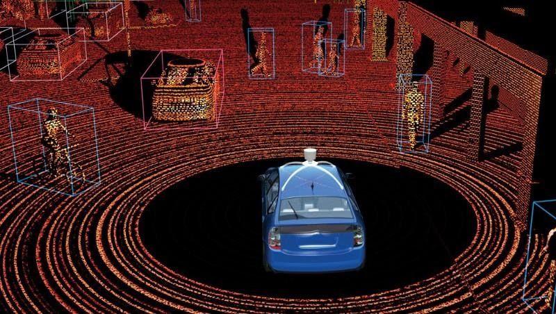 سنسور LiDAR خودرو های خودران