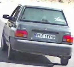 نمونه تصاویر بریده شده خودرو
