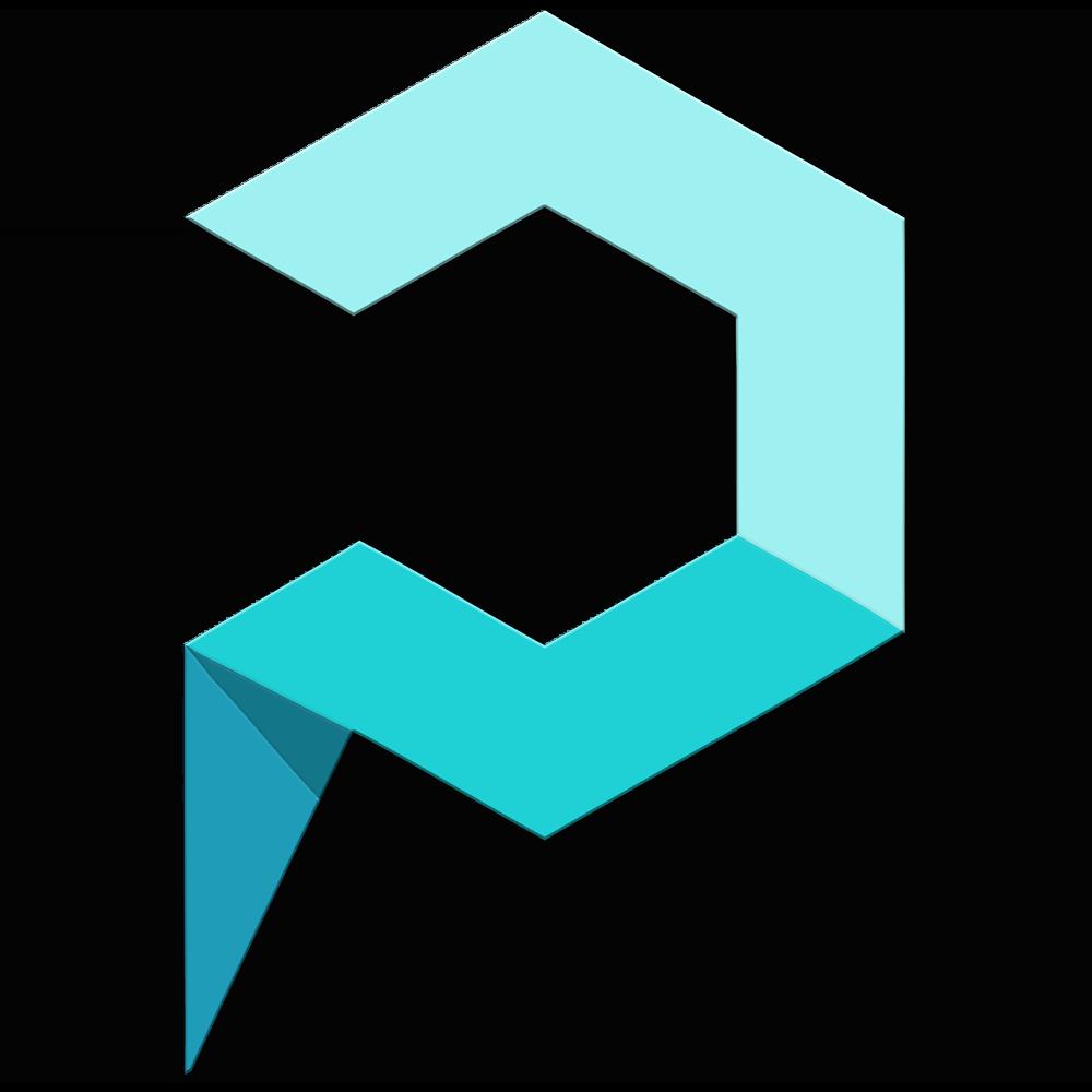 لوگو نرم افزار آی پلاک مربعی