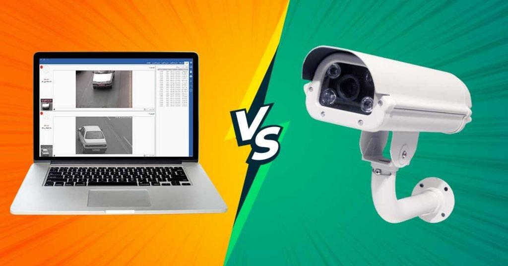 تفاوت دوربین و نرم افزار پلاک خوان