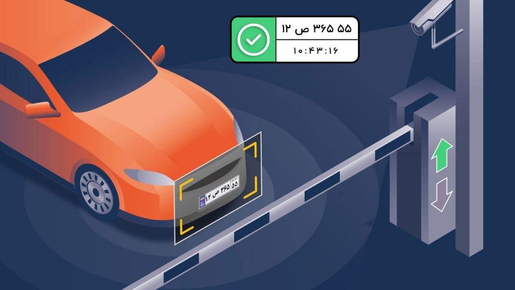 کنترل راهبند با نرم افزار پلاک خوان